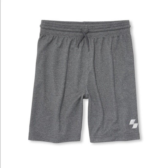 The Children's Place Other - NWT PLACE Boys Sport Gray Basketball Shorts S 5/6